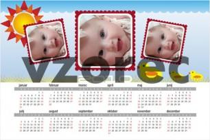 Enolistni foto koledar 9