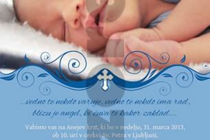 Krstno vabilo 34
