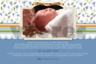 Zahvala ob krstu 12