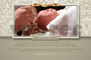 Zahvala ob krstu 14