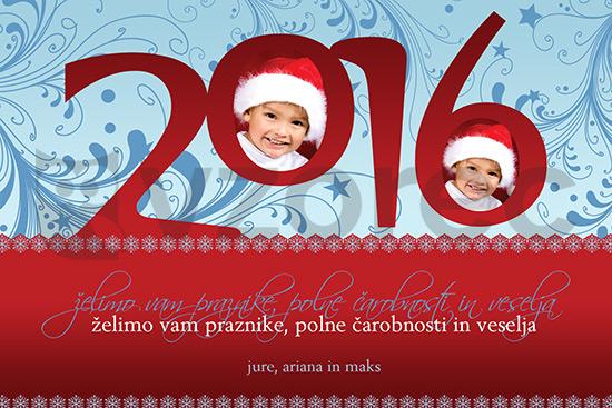 Božično-novoletna voščilnica 28