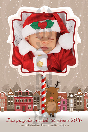 Božično-novoletna voščilnica 82