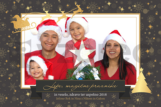 Božično-novoletna voščilnica 83