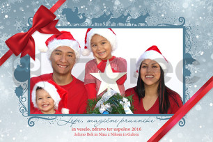 Božično-novoletna voščilnica 84