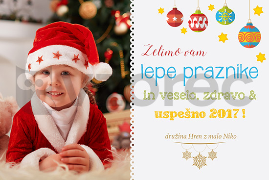 Božično-novoletna voščilnica 87