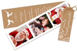 Trio božično-novoletna voščilnica 88