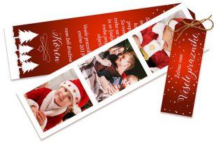 Trio božično-novoletna voščilnica 89